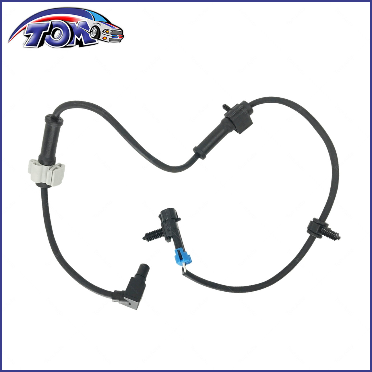 Abs Wheel Speed Sensor Front Left Right For Chevy Gmc