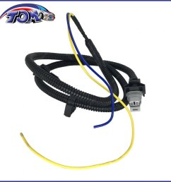 details about abs wheel speed sensor wire harness front for cavalier sunfire 970 007 [ 1296 x 1296 Pixel ]