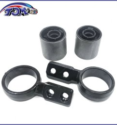 details about new set of 4 control arm bushing retainer bracket for bmw e46 325xi 330xi [ 1296 x 1296 Pixel ]