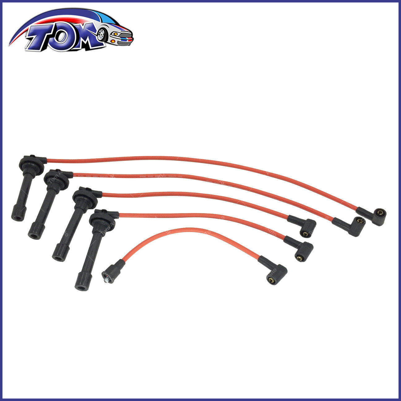 hight resolution of details about brand new spark plug wire set for honda accord civic del sol spiral core 92 02