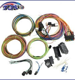20 circuit wiring harness mini fuse chevy ford hotrods universal xdetails about 20 circuit wiring harness [ 1296 x 1296 Pixel ]