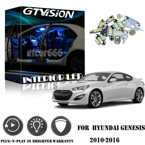 small resolution of details about 8pcs blue interior led lights package kit for 2010 2016 hyundai genesis coupe
