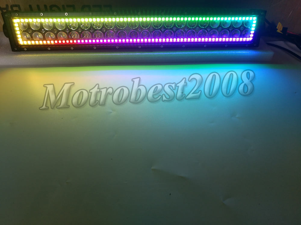 Inch Led Light Bar With Wiring Kit Harness Dune Buggy Sand Rail Ebay