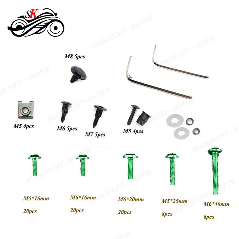 1 Set Motorcycle Fairing Bolt Kit For BMW S1000XR HP2 HP4
