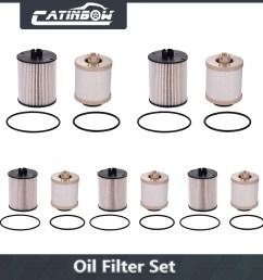 image is loading 5x diesel fuel filter kit set for ford  [ 1001 x 1001 Pixel ]