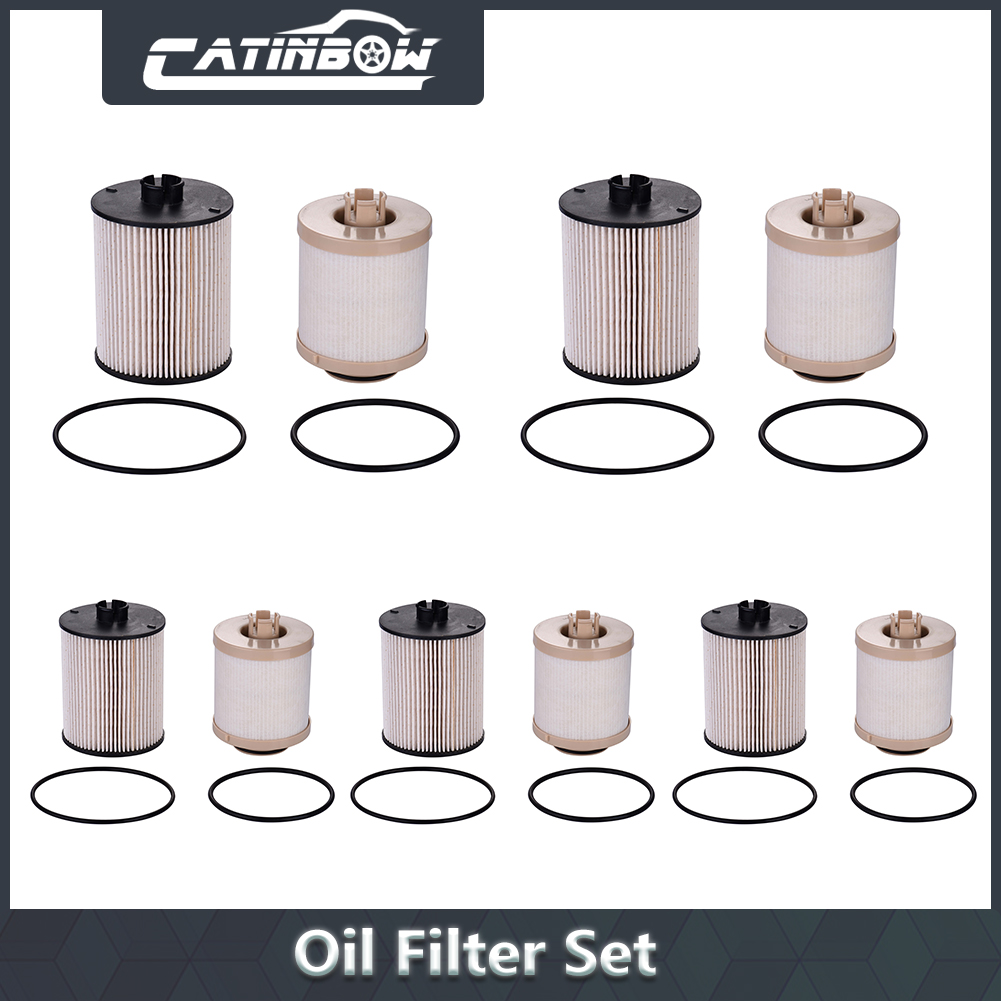 hight resolution of image is loading 5x diesel fuel filter kit set for ford