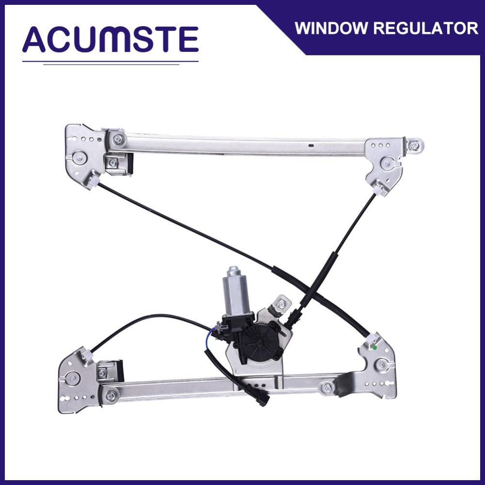 medium resolution of power window regulator w motor front driver side left for ford f150 lincoln mark