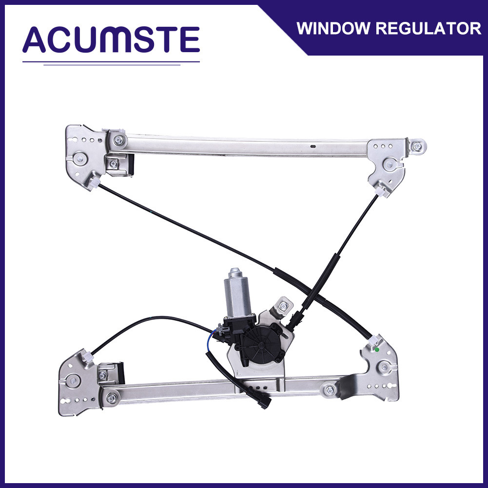 hight resolution of power window regulator w motor front driver side left for ford f150 lincoln mark