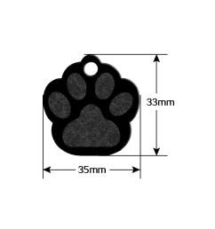 80pcs aluminum blank dog tags personalized pet id tag custom pet name phone [ 1000 x 1000 Pixel ]