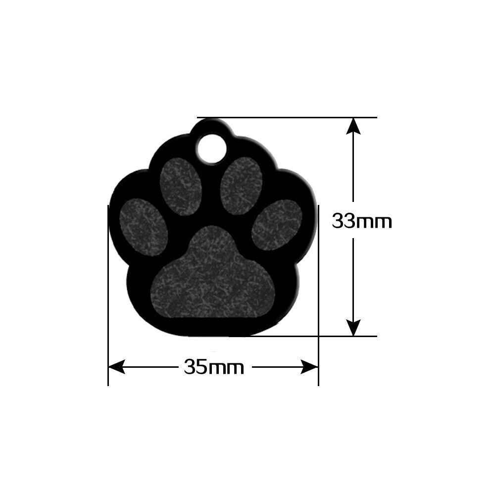 hight resolution of 80pcs aluminum blank dog tags personalized pet id tag custom pet name phone