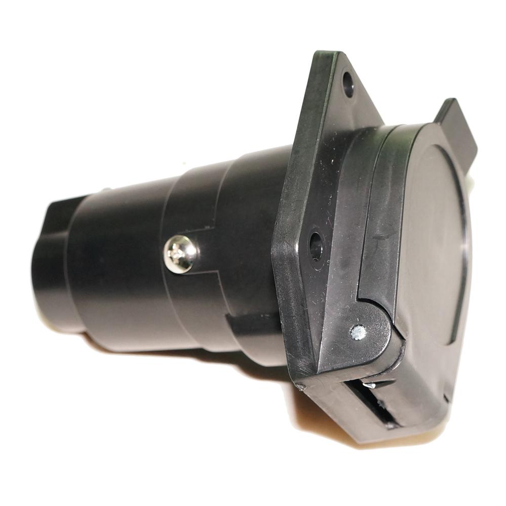 medium resolution of car auto trailer wiring adapter 7 pin way hole socket adapter plug light boats