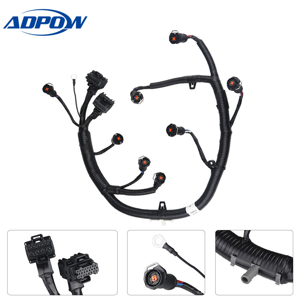 FICM Engine Fuel Injector Module Wire Harness Fit for Ford