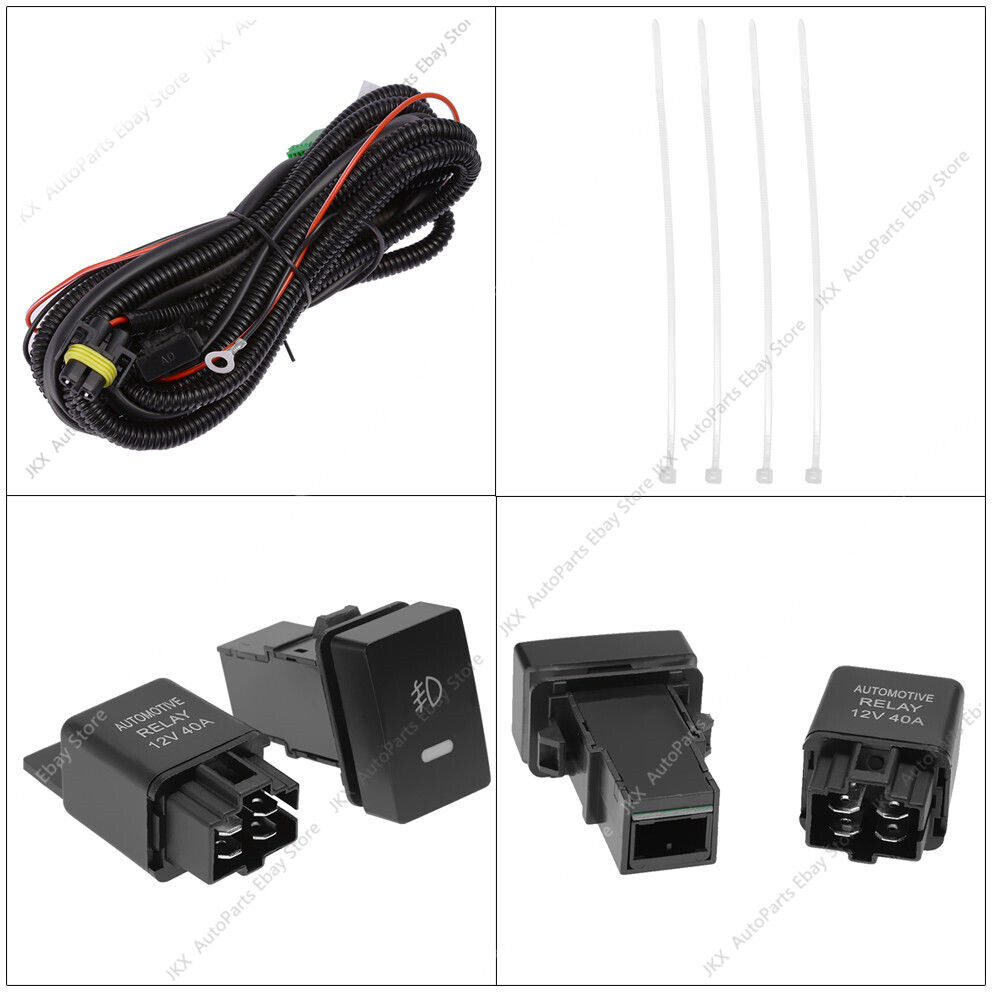 hight resolution of for toyota camry se xse 2018 2019 led drl turn signal lamp fog light wiring kit