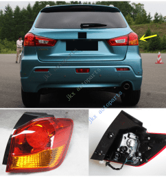 details about right side tail light signal lamp for mitsubishi outlander sport asx rvr 2011 19 [ 1214 x 1097 Pixel ]