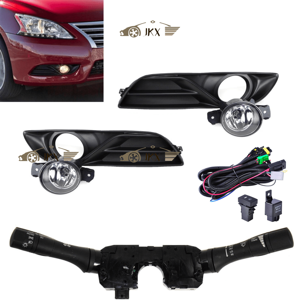 medium resolution of details about fog lamp light switch wiring harness kit for nissan sentra sylphy 2013 2015
