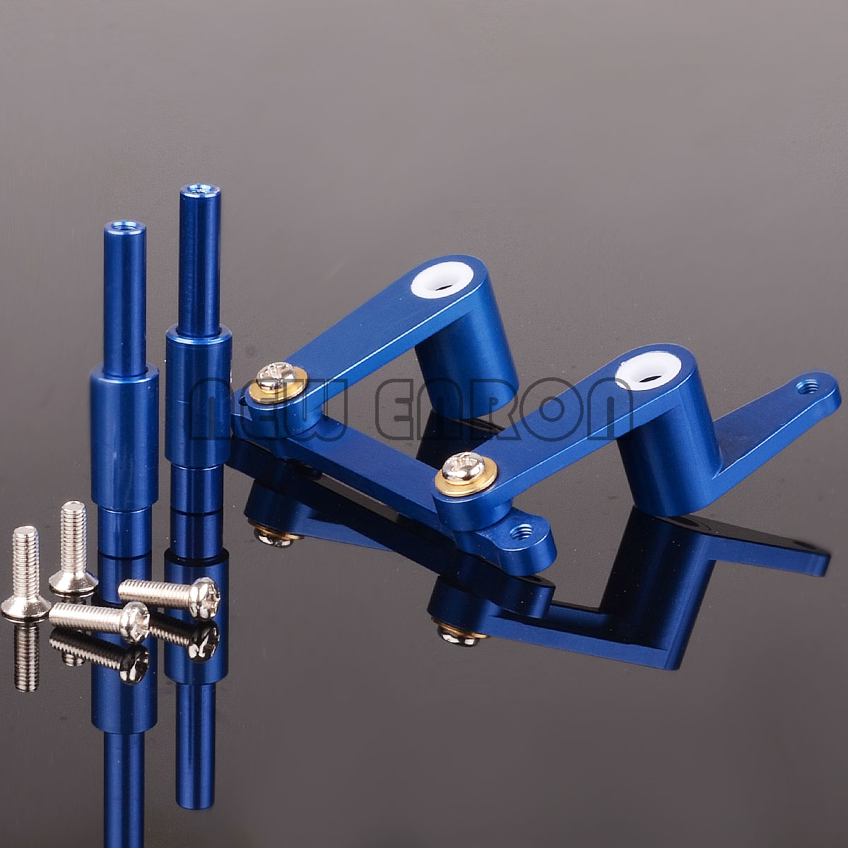 hight resolution of blue steering assembly 4943 for rc traxxas t maxx classic 4910 15 2 5 e maxx
