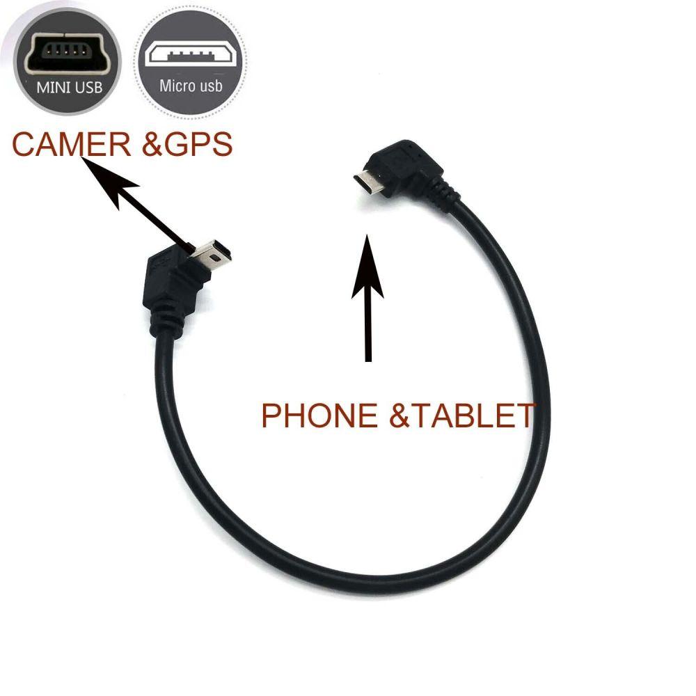 medium resolution of otg cable 5 pin mini usb sync lead for nikon d7000 d3000 d40 d40x d60 d610 gm