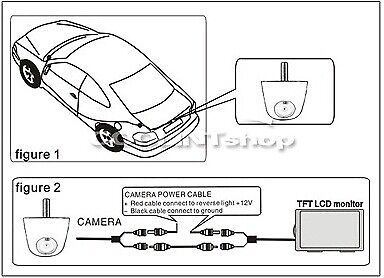 Solid HD Color Car Parking Front / Rear View Camera With