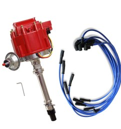 details about v8 s hei coil distributor for sbc bbc 305 350 454 and 9 5 mm spark plug wires [ 1000 x 1000 Pixel ]