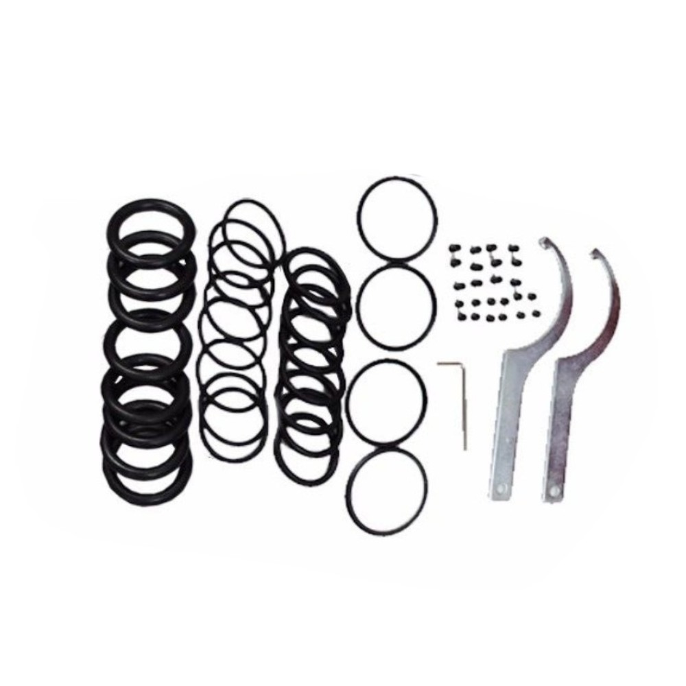 Front Rear Suspension Coilover Lowering Spring Sleeve Kit