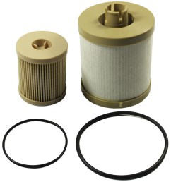 new fuel filter for ford diesel 6 0 f250 f350 f450 powerstroke fd4604 fd4616 [ 2835 x 2835 Pixel ]