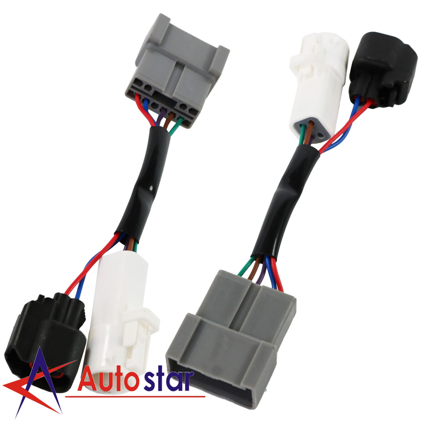 hight resolution of details about l r pair set mirrors power heated upgrade harness adapter for ford excursion
