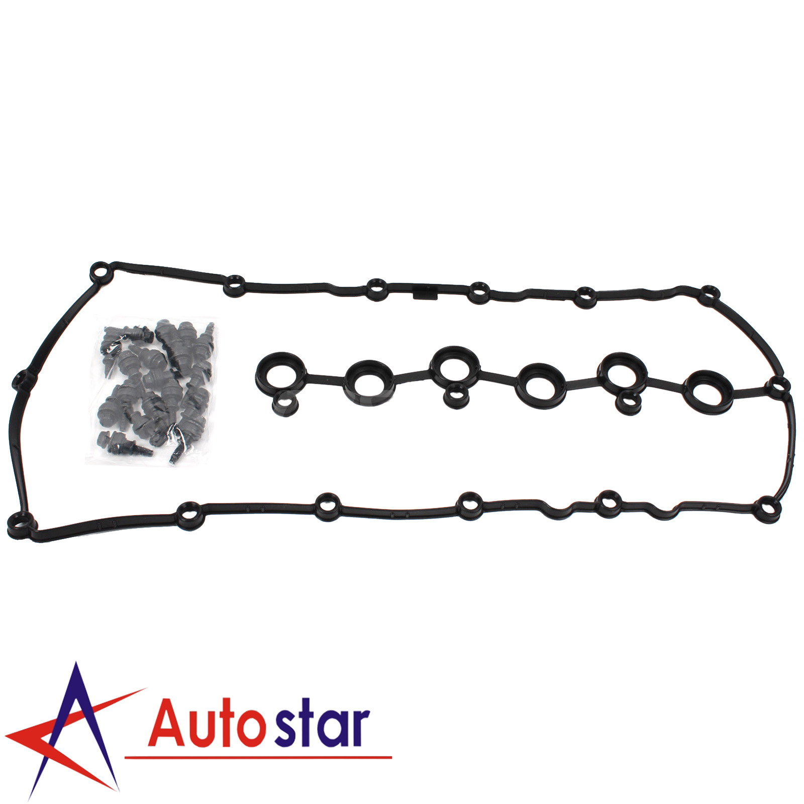 03h H Engine Valve Cover With Gasket Seals For Passat