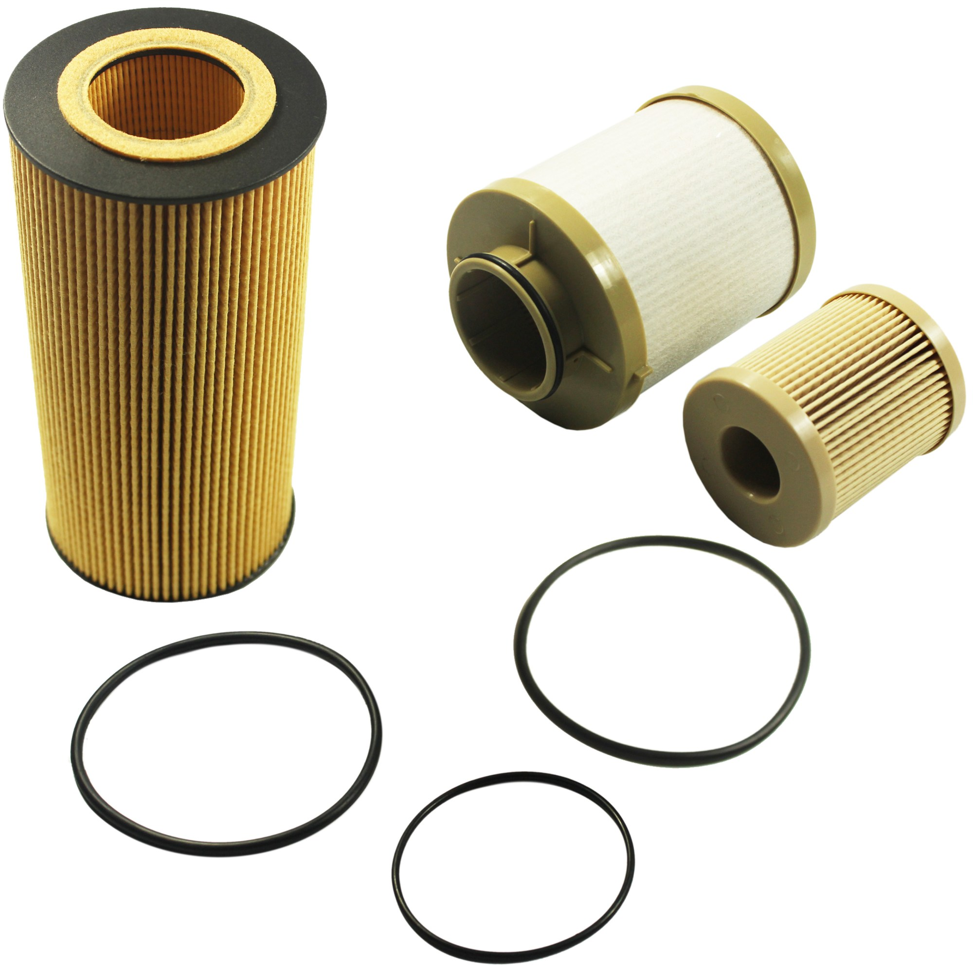 hight resolution of details about diesel oil filter fuel filter 03 07 ford powerstroke 6 0l fl2016 fd4604 fd4616