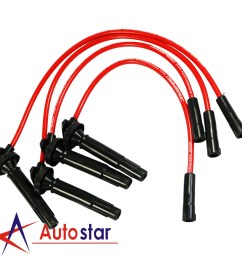 details about jdmspeed spark plug wires for subaru forester baja saab impreza legacy outback [ 1600 x 1600 Pixel ]