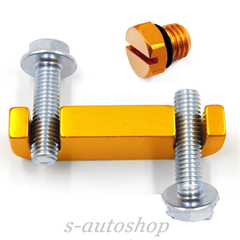 medium resolution of details about duramax fuel filter head housing spacer kit aluminum bleeder screw 01 17 golden