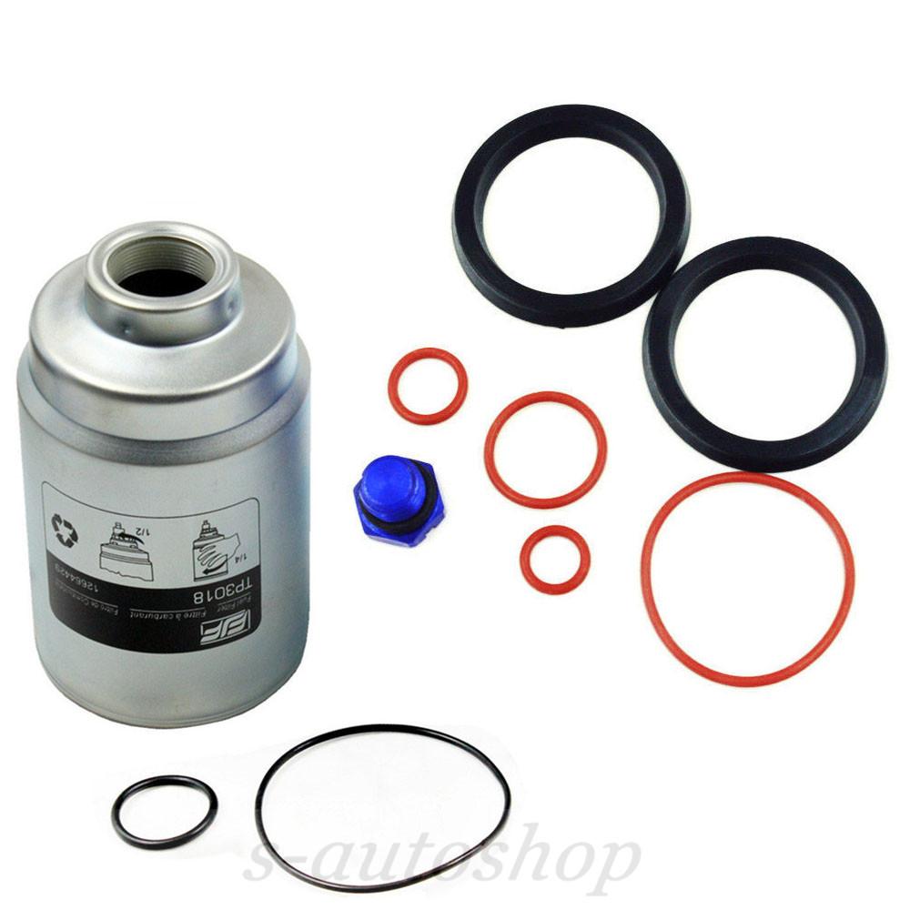 medium resolution of details about new diesel fuel filter tp3018 primer seal kit billet bleeder screw for duramax