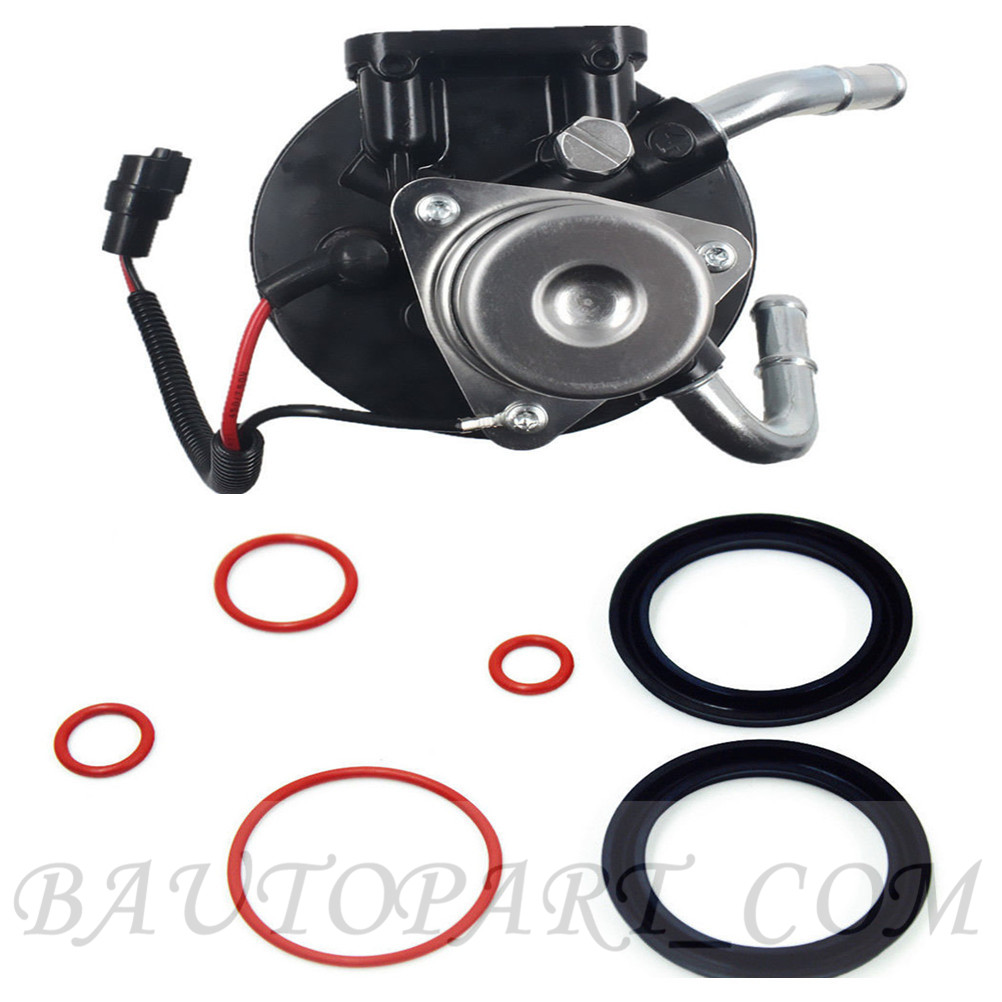 hight resolution of details about for duramax 6 6 v8 fuel filter head w heater 12642623 rebuild viton o rings kit