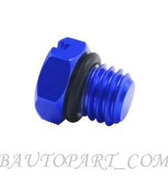 fuel filter housing bleeder screw gm 2001 2017 duramax diesel fuel filter blue [ 1000 x 1000 Pixel ]
