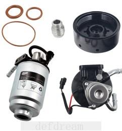 duramax 6 6l fuel filter head with heater 12642623 tp3018 fuel filter adapter [ 1000 x 1000 Pixel ]