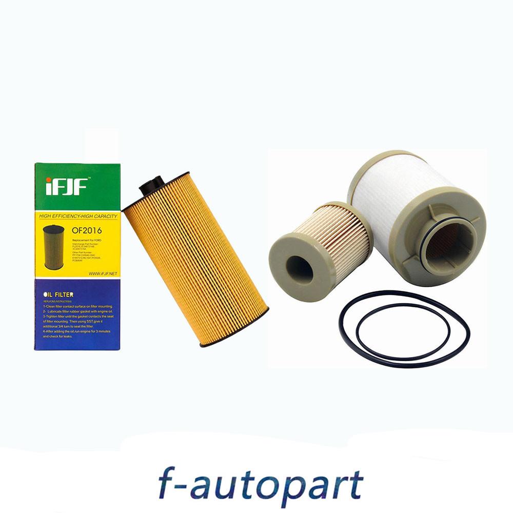 medium resolution of details about for ford powerstroke 6 0l diesel oil filter fuel filter 2003 2007 fl2016 fd4616