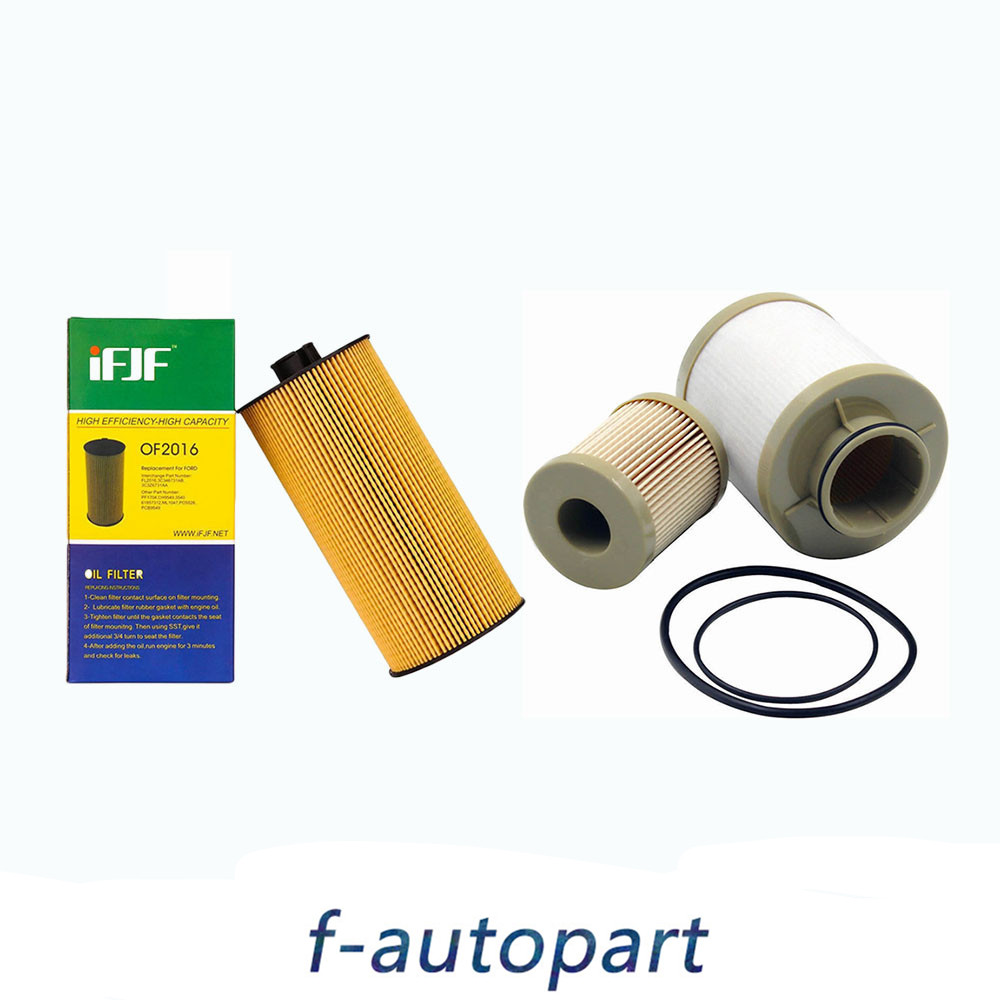 hight resolution of details about for ford powerstroke 6 0l diesel oil filter fuel filter 2003 2007 fl2016 fd4616