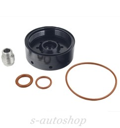 diesel tp3018 filter housing with head fuel filter adapter 04 13 duramax [ 1000 x 1000 Pixel ]