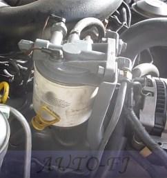 for ford f250 f350 6 9l 7 3l idi diesel fuel filter housing header f2tz 9b249 a [ 1000 x 1000 Pixel ]