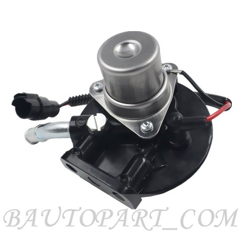 small resolution of 2004 2013 v8 6 6l duramax diesel fuel filter head assembly with heater 12642623