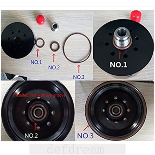 small resolution of duramax 6 6l fuel filter head with heater 12642623 tp3018 fuel filter adapter