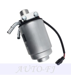 fuel filter with heater 12642623 2 bolts for gmc 2014 2013 duramax diesel engine [ 1000 x 1000 Pixel ]