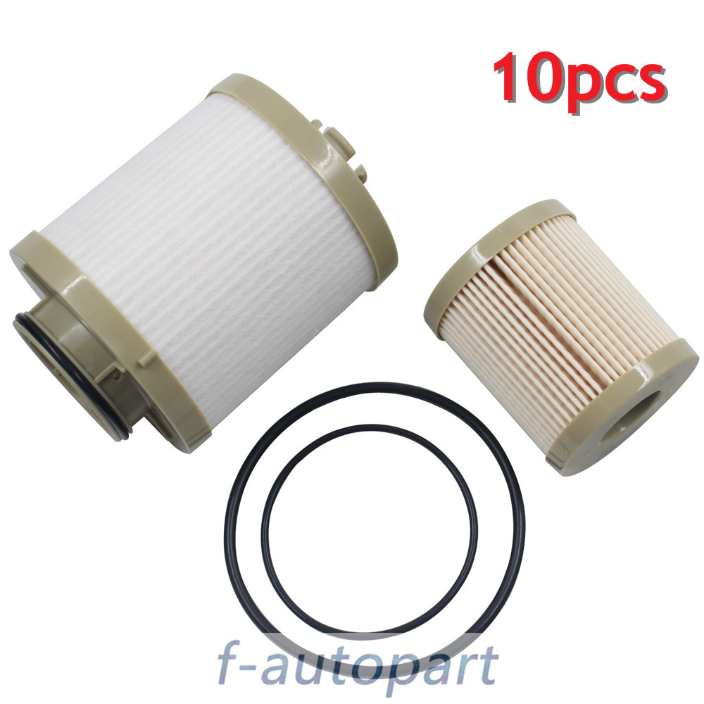 medium resolution of 10 pcs for ford fuel filter diesel 6 0 f250 f350 f450 powerstroke fd4604 fd4616