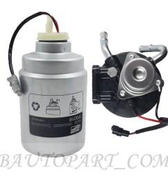 fuel filter housing duramax 6 6l 04 13 chevrolet silverado 2500 hd float sensor [ 1000 x 1000 Pixel ]