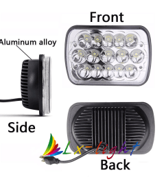 7x6 led headlight upgrade for ford super duty truck f550 f600 f650 f700 f750 [ 1000 x 1000 Pixel ]