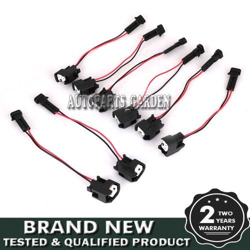 small resolution of  lq4 lq9 4 8 5 3 6 0 delphi wire harness to ls2 ls3 ls7 ev6 injector adapters