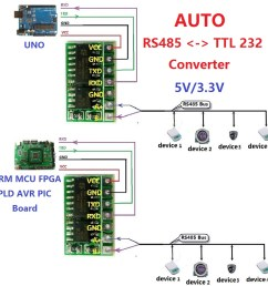 5v 3 3v rs485 to ttl converter module uart 232 to 485 bus sp485 3485 for arduino [ 1000 x 1000 Pixel ]