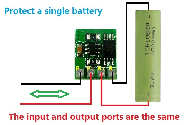 Protector Battery Charger Circuit