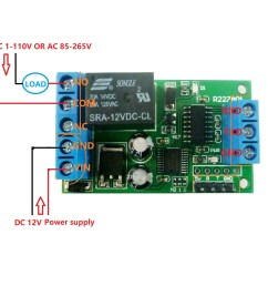 2 dc 1 48v or ac 85 265v control circuit wiring diagram below note if not dc 12v load need another dc 12v power supply load may be led lights fans  [ 1050 x 1050 Pixel ]