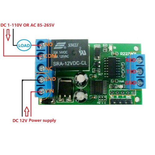 small resolution of 2 dc 1 48v or ac 85 265v control circuit wiring diagram below note if not dc 12v load need another dc 12v power supply load may be led lights fans