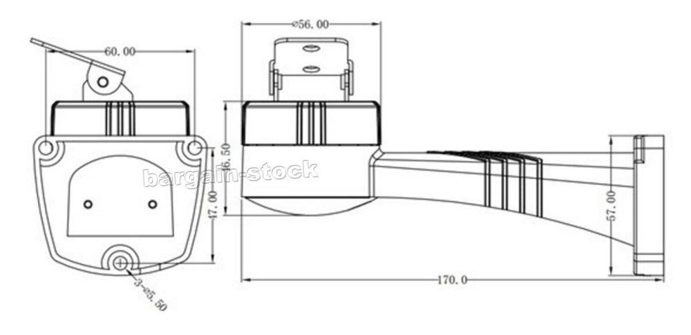 medium resolution of ptz motorized rotation bracket holder rs485 pelco d control for cctv camera
